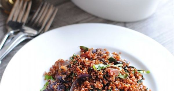 Purple cauliflower, Quinoa and Cauliflowers on Pinterest