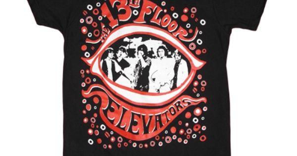 13th floor elevators band t shirt t shirts pinterest for 13th floor elevators shirt