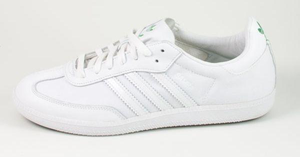 adidas samba white white