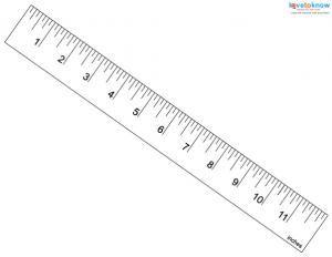 Free Printable Rulers Lovetoknow Printable Ruler Ruler Centimeter Ruler