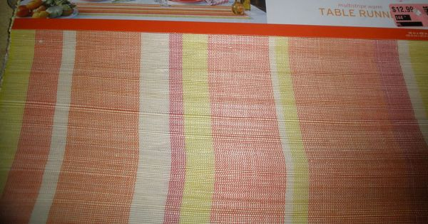 14 X48 Table Runner New Woven Warm Colors Warm Colors Table