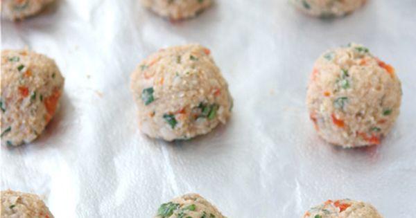 "Cannellini Bean Vegetarian ""Meatballs"" with Tomato Sauce | Recipe ..."