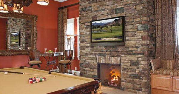 Ledgestone Fireplace Are Fascinating Option : Ledgestone Fireplace Are Fascinating Option : - Country Ledgestone ...