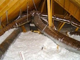 Case Closed Get Those Air Conditioning Ducts Out Of The Attic Air Conditioning Ductwork Ducted Air Conditioning Duct Work