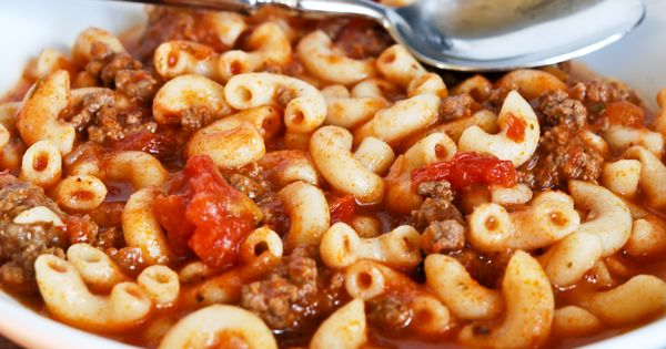 American Goulash--an Oldie but Goodie. Easy -Breezy to make. Recipe makes a