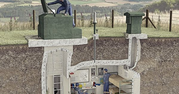 roc nuclear monitoring post cutaway illustration on behance surviving the unknown. Black Bedroom Furniture Sets. Home Design Ideas