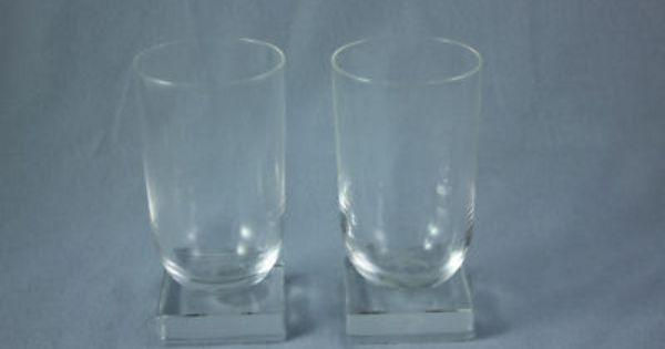 Libbey Nash Knickerbocker Water Glasses 1930 S Vintage Glass Pinterest Water Glass