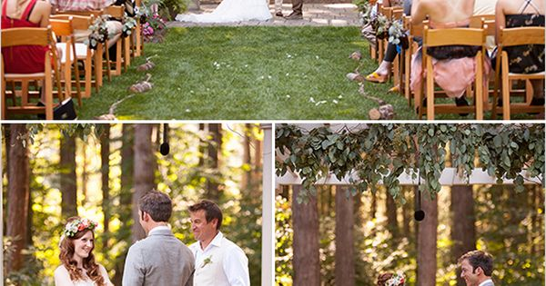 DIY bouquet - A Wedding Deep In the Woods
