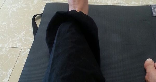 Pulling balls with toes