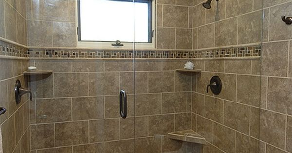 showers with no doors bathrooms designs | These are some ideas I