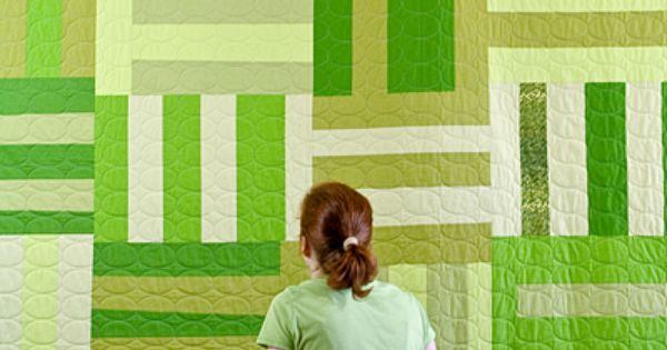 Great way to hang quilt