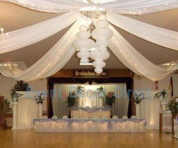 Wedding Reception Ideas Diy Ceiling Table And Backdrop Kits