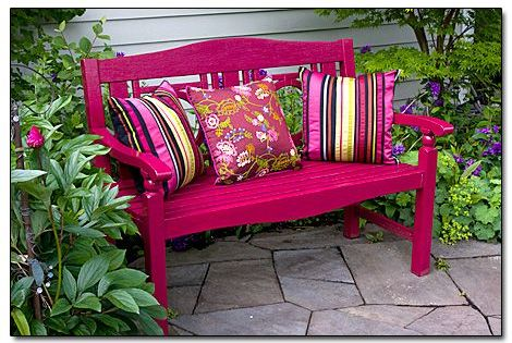 I Find My Favorite Garden Bench In The Shade Sit Back
