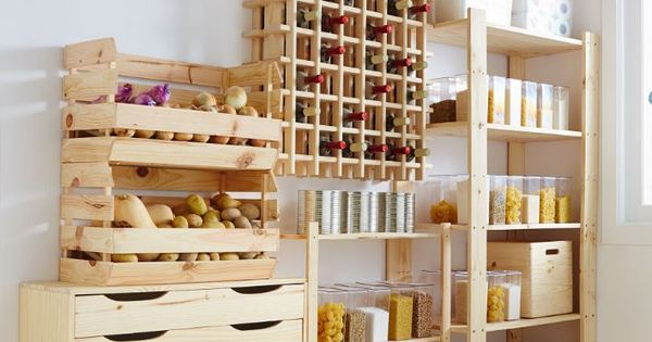 Crea tu propia despensa organiza tu espacio for Crea tu propia cocina