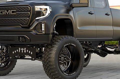 Stealth Mode With The 2020 Gmc 2500hd Innov8 Gmc 2500 Gmc Gm Trucks
