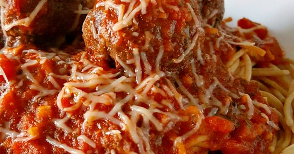 Grilled Meatballs and Spaghetti | Recipe | Spaghetti and Recipe