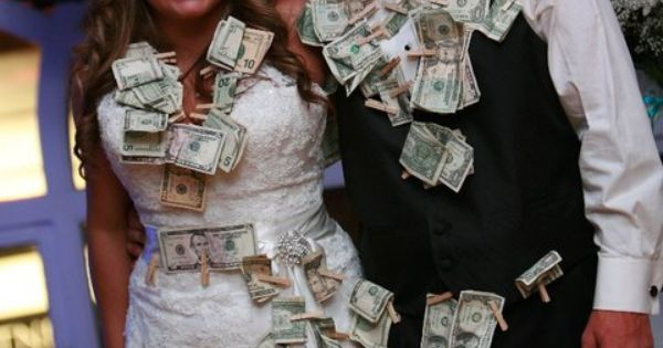 Dollar Dance People Pay To Dance With The Bride And