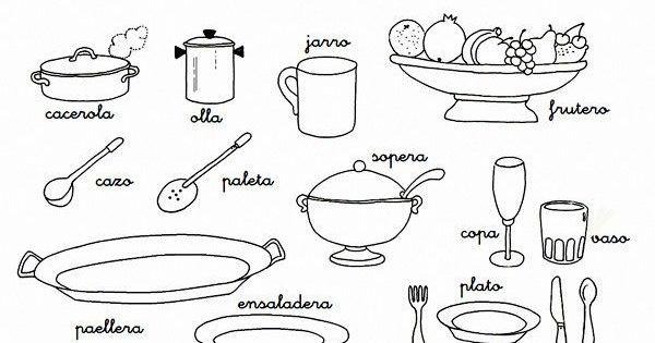 Paella dibujo para colorear buscar con google cocina for Utensilios de cocina nombres e imagenes