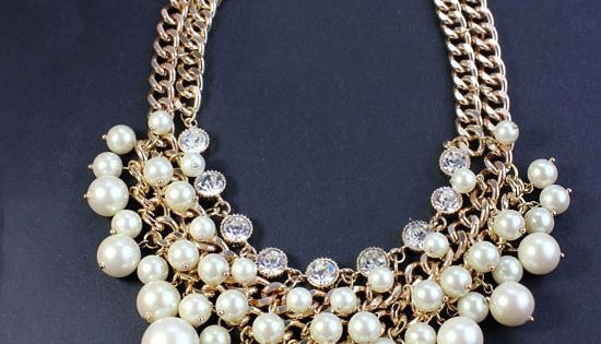 A toned down version of this would be a great statement necklace.