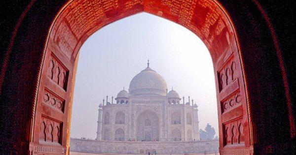 Taj Mahal - Agra - Uttar Pradesh Door Doors Knocker Architecture Amazing