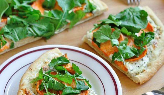 parmesan french toast with tapenade and arugula salad arugula parmesan ...