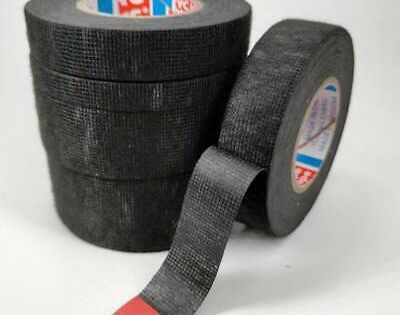 Sponsored Ebay 15m Universal Black Flannel Cloth Tape Car Automobile Wiring Wire Harness Tape G In 2020 Fabric Tape Cloth Tape Electrical Tape