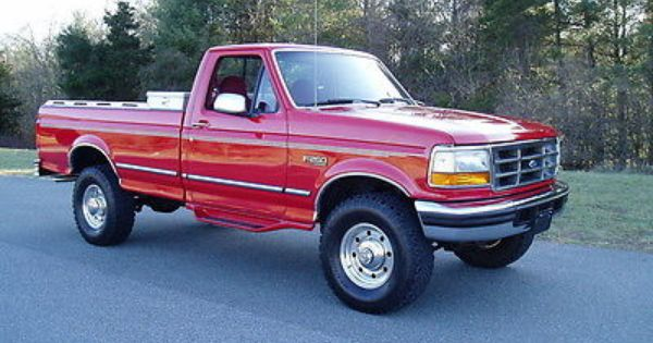 1996 Ford F 250 Xlt 4x4 40k Actual Miles V8 Auto A C Ford Pickup Ford Trucks Used Ford