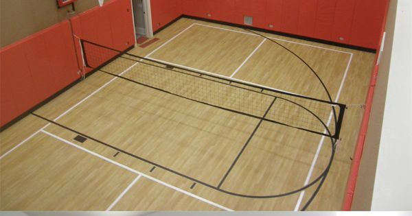 With A Sport Court Indoor Basketball Court You Can Expect