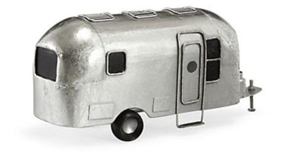 Caravan Objet De Decoration Caravane Metal Couleur Argent Objet