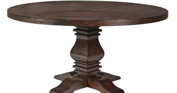 Bewdley Solid Wood Dining Table Round Pedestal Dining Table Dining Table Wood Dining Table