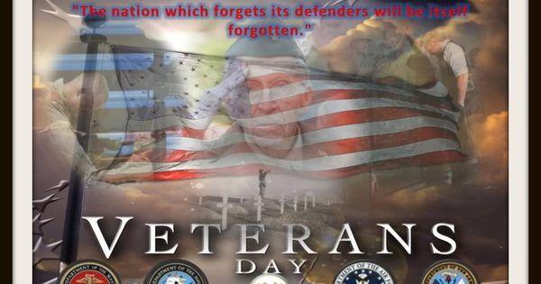 veterans day beautiful flag