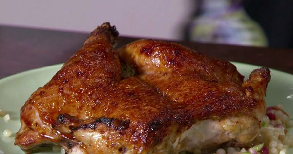 Cornish Game Hens with Pomegranate Molasses Food Recipe Yummy Meals Dinner Chef