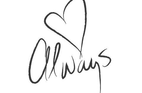 wall quotes wall decals - Always Kiss Me Goodnight ... Black And White I Love You Quotes