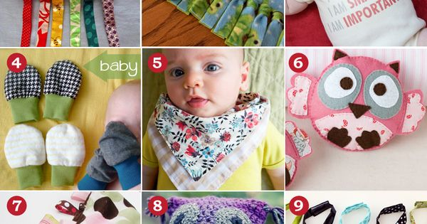 A Handmade Christmas: DIY Baby Gifts | The DIY Mommy by rachel.ruhlphipps