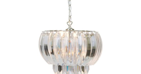 Laura Ashley Aria Clear Layered Swag Ceiling Light Chandelier in New  ConditionAria Clear Layered Swag Ceiling Light   Ter s House   Pinterest  . Ashley Lighting. Home Design Ideas
