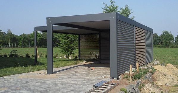 designer carport modern und elegant in ein carport kann ein schuppen oder ein dachboden. Black Bedroom Furniture Sets. Home Design Ideas