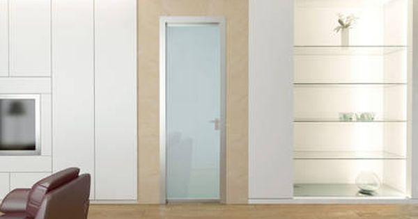 Eletta Portes A Battant En Verre Portes Transparent Opale Et Satine Scrigno Portes Verre Salle De Bain