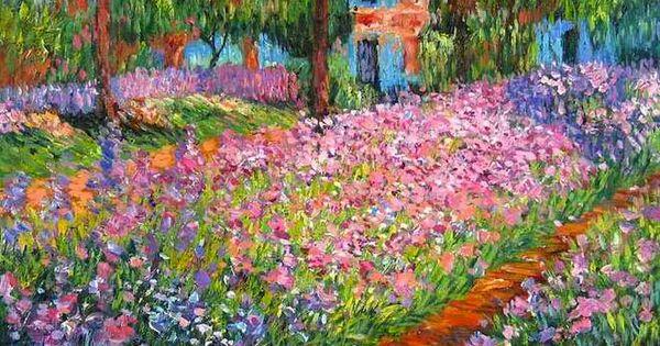 la maison de claude monet giverny art pinterest jardins sakura et les couleurs du printemps. Black Bedroom Furniture Sets. Home Design Ideas
