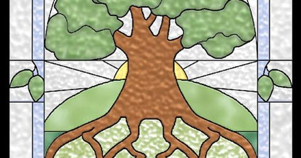 Tree Of Life Stained Glass Celtic Quilt Pattern By Celtic