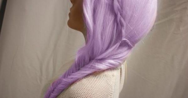 Super Super Super SUPER Cute Lilac Hair Style