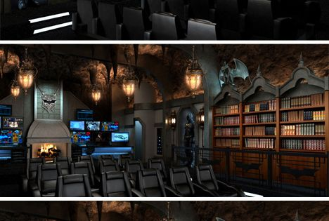 Home theaters theater and batman on pinterest