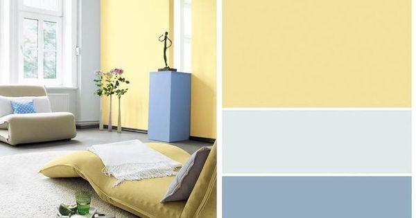 Wohnen Mit Farben Stilkarten Von Schoner Wohnen Farbe Sonne Und Himmel Schoner Wohnen Farbe Schoner Wohnen Wohnen