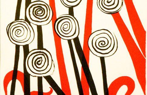 Alexander Calder Les Fleurs 1974 Available Alexander Calder Art Calder