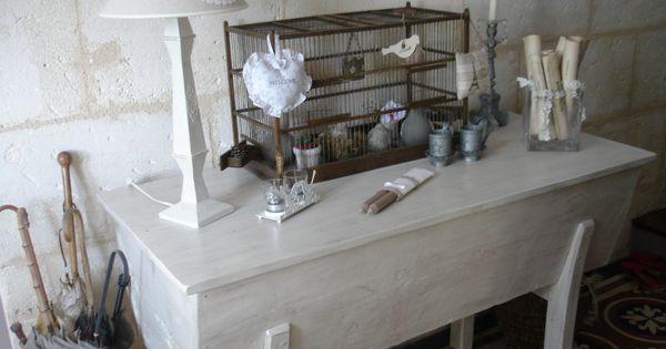 Ancienne maie patine ficelle meubles patin s au c ur d for Meubles patines