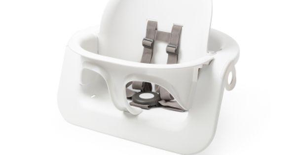 Steps™ Baby Set, Hvid | Højstol, Hvid, Design