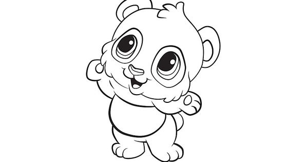 Learning Friends Panda Coloring Printable From LeapFrog The Learning Friends Prepare Kids For