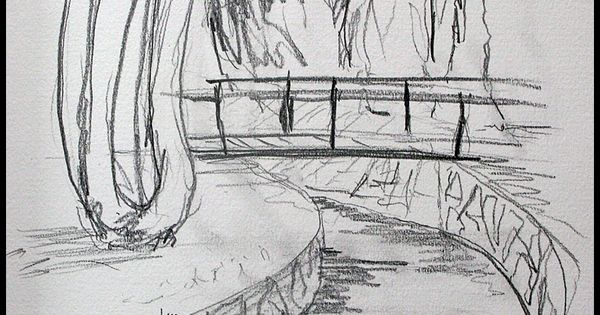 Pond Drawing Pencil Google Search How To Draw