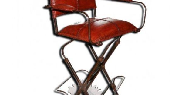 Chaise hautes de bars meubles mexicains chaises de bar - Chaise haute fer forge ...