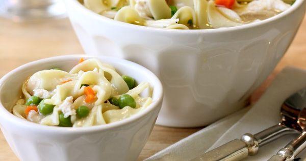 mini me homemade vegetable noodle soup