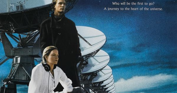 """Movie Posters 1997: """"Contact"""" Movie Poster, 1997"""